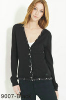 tops et pulls burberry coton multicolor b9007-black