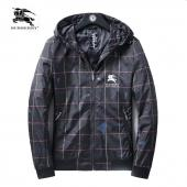 jacket blouson burberry homme 2020 chaud zippe hoodie grid jacket