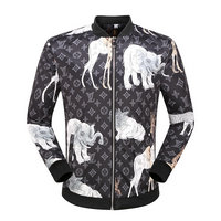 jackets supreme man en vente pas cher animal zipper