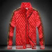 blouson gucci homme jacquard bee side mark red