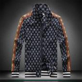 blouson gucci homme jacquard side mark bee blue