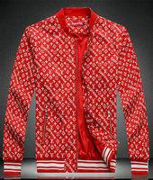 blouson jacket louis vuitton pas cher supreme rouge