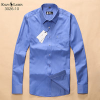 chemise ralph lauren man promo cloud blue