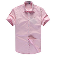 chemises ralph lauren man coton tentation 2013 manche courte polo color pony pink