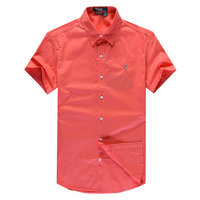 chemises ralph lauren man coton tentation 2013 manche courte polo color pony red