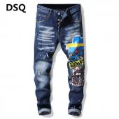dsquared2 jeans dames sale pas cher tidy biker  cartoons