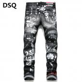 dsquared2 jeans dames sale pas cher tidy biker  black gray