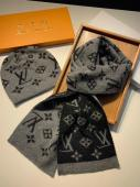 echarpe et cap louis vuitton edition limitee lv20200077,louis vuitton scarf yupoo