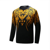 ga armani pull olympic sweat hiver angel wings