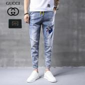 gucci knit pants brand new embroidery wolf