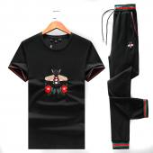 gucci Tracksuit homme sport embroidery bee fly cotton