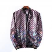 homme cuir jacket louis vuitton original lv99003 flower