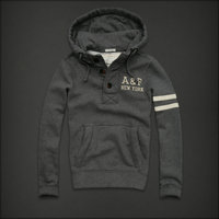 hommes jacket hoodie abercrombie & fitch 2013 classic x-8010 gris fonce