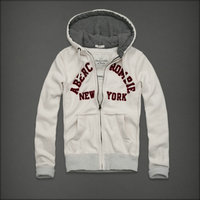 hommes jacket hoodie abercrombie & fitch 2013 classic x-8021 blanc casse