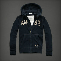 hommes jacket hoodie abercrombie & fitch 2013 classic x-8026 saphir