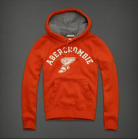 hommes jacket hoodie abercrombie & fitch 2013 classic t67 orange