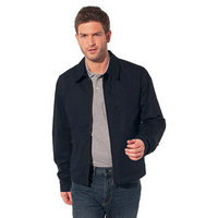 jacket lacoste classic 2013 man high neck zipped black