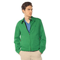 jacket lacoste classic 2013 man high neck zipped green