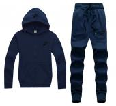 man Tracksuit nike tracksuit outfit nt1575 deep blue,nike tracksuit nylon