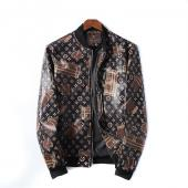 man jacket bomber louis vuitton pas cher leather jacket lv87382
