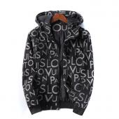 man jacket bomber louis vuitton pas cher black zipper hoodie