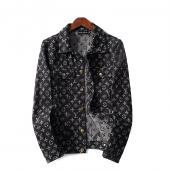 man jacket bomber louis vuitton pas cher flower monogram button