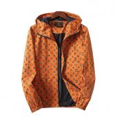 man jacket bomber louis vuitton pas cher yellow gold monogram lv zipper hoodie