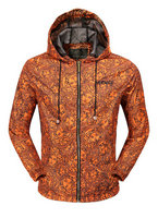 man jacket versace long sleeve sweater gold orange hoodie