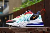 nike air max 270 react eng blue rainbow rouge