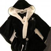 peignoir louis vuitton marque fashion hoodie black