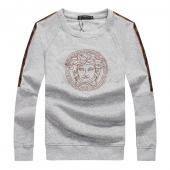 pull versace homme 2020 sweat embroidery medusa gray