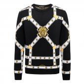 pull versace promo knitwear jacquard