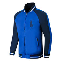 ralph lauren jacket chauffante big pony blue