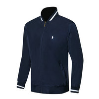 ralph lauren jacket chauffante blue small pony