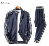 Tracksuit balenciaga tracksuit men col paris zipper
