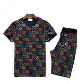 Tracksuit gucci promo short sleeve tracksuit  classic grid