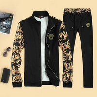 Tracksuit versace jogging discount flower shoulder noir
