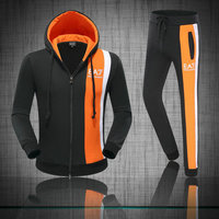 Tracksuits armani pas chere cool couleur bilaterale orange,armani Tracksuit volcom shop