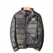 versace doudoune men winter jacket 2019 medusa logo black