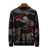 versace new collection crewneck sweatshirt leopard
