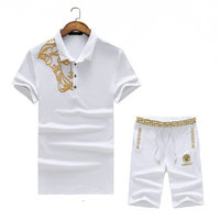 versace Tracksuit manches courtes collection iconic greca medusa