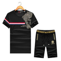 versace Tracksuit manches courtes collection left iconic medusa