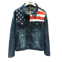 jacket en jeans dsquared 2018 dsquared2 usa flag