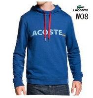 95b3d57183 53.00EUR, veste lacoste classic 2013 hommes hoodie coton w08 bleu
