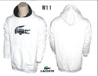 jacket lacoste classic 2013 man hoodie coton w11 blanc
