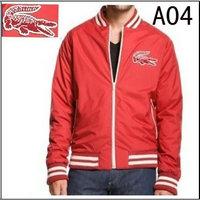 06f6f7f0c5 veste lacoste classic 2013 hommes fermeture eclair col haut a04 rouge