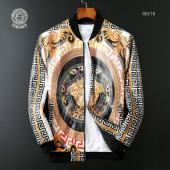 jacket versace homme jacket pas cher half medusa leather