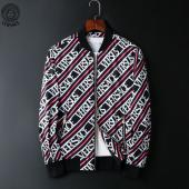 jacket versace homme jacket pas cher stripe black