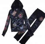 survetement ed hardy hoodie pour femmes,survetement ed hardy hoodie a intersport