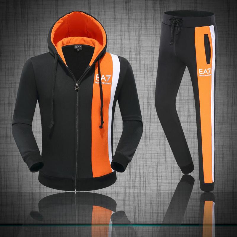 0e10ccf7ab436 survetements armani pas chere cool couleur bilaterale orange